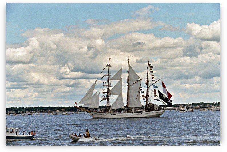 Newport Rhode Island - Harbor View by FoxHollowArt