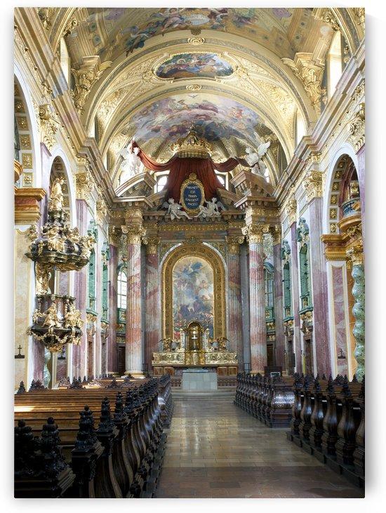 Jesuit Church Vienna by Eliot Scher