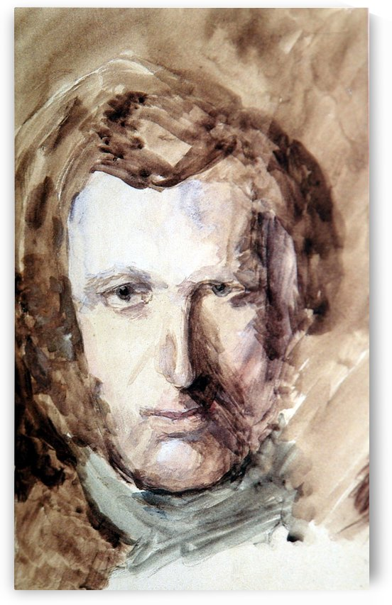 Self Portrait 1874 by John Ruskin