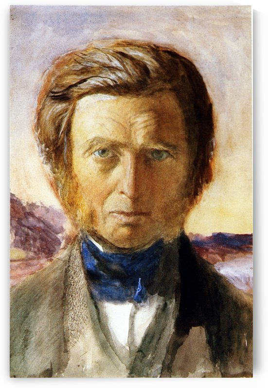 Self Portrait 1875 by John Ruskin