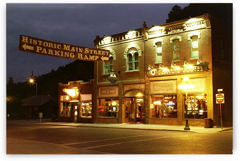 Main Street - Deadwood South Dakota by FoxHollowArt