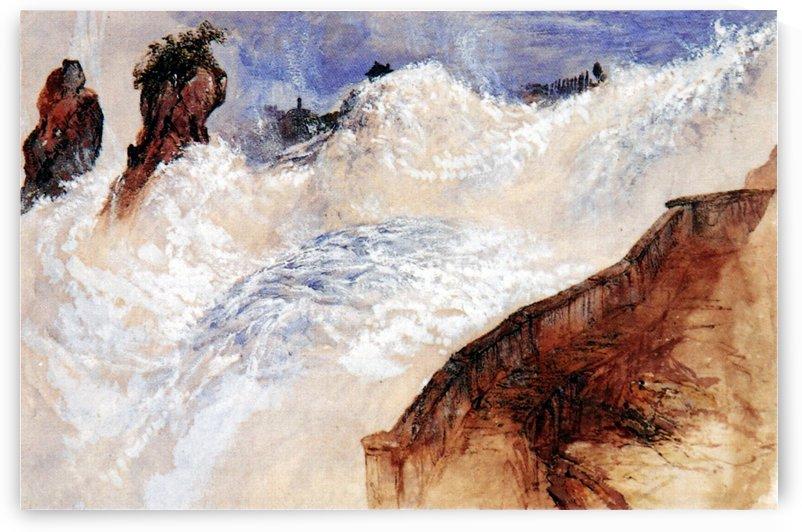 Falls of Schaffhausen by John Ruskin