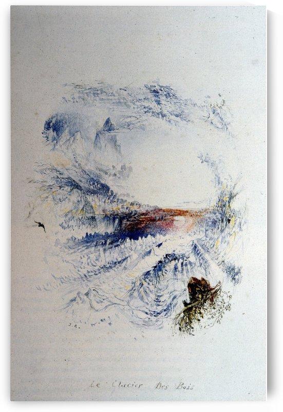 The Glacier des Bois by John Ruskin