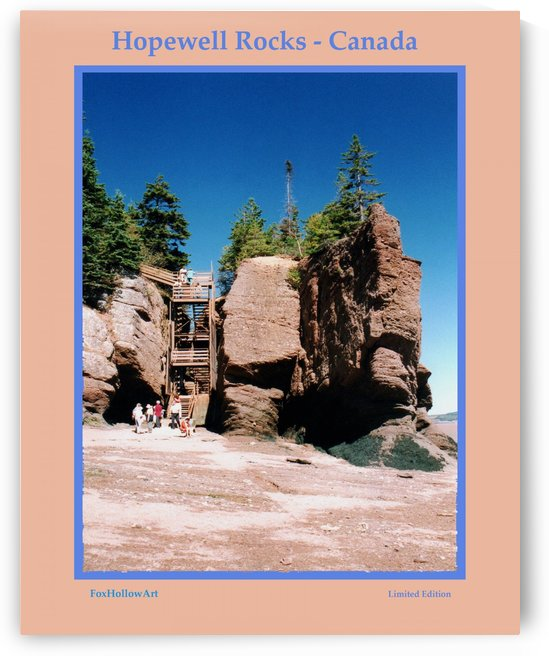 Hopewell Rocks - Canada by FoxHollowArt
