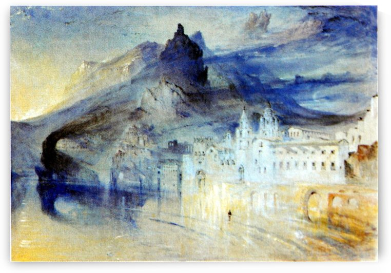 View of Amalfi by John Ruskin