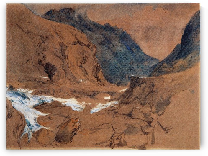 The Pass of Faido on the St Gotthard by John Ruskin