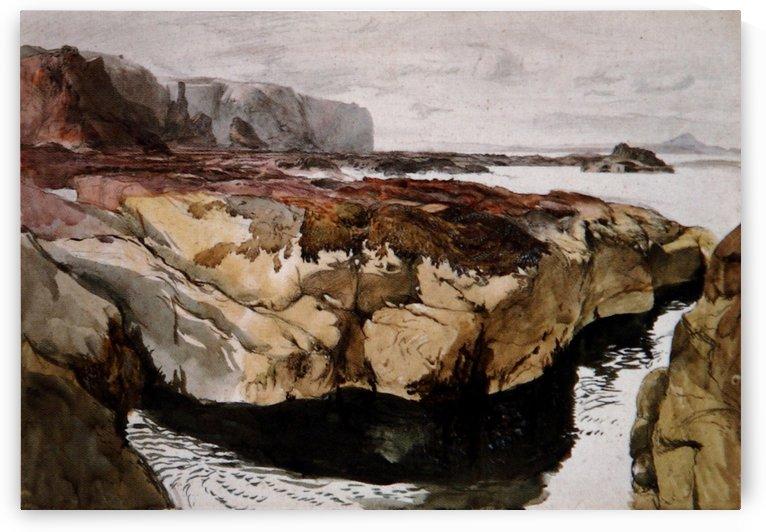 Coast Scene near Dunbar by John Ruskin