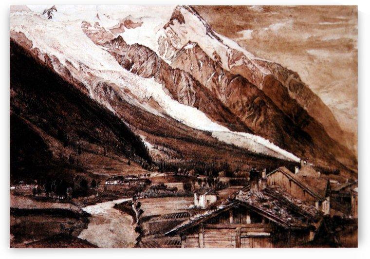 Glacier des Bossons Chamonix by John Ruskin