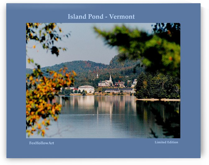 Island Pond Vermont by FoxHollowArt