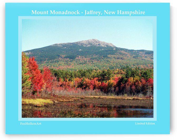 Mount Monadnock From Troy New Hampshire by FoxHollowArt