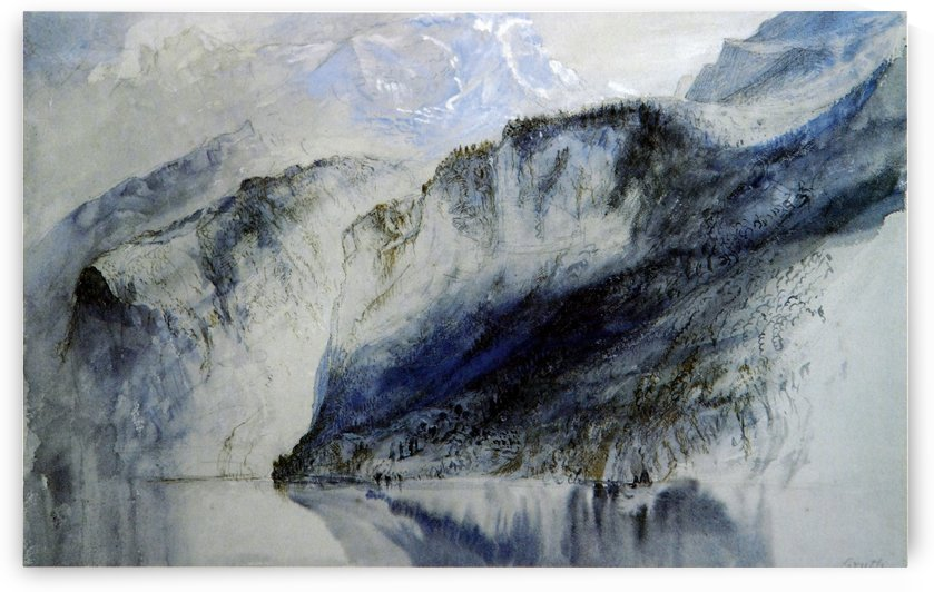 Bay of Uri Lake of Lucerne by John Ruskin