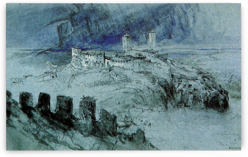 Bellinzona by John Ruskin