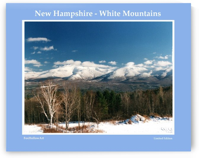 New Hampshire White Mountains by FoxHollowArt