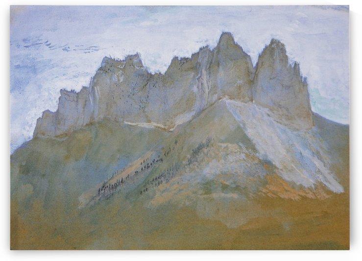 Rochers de Lanfon by John Ruskin