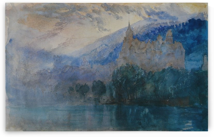 Chateau of Neuchatel by John Ruskin