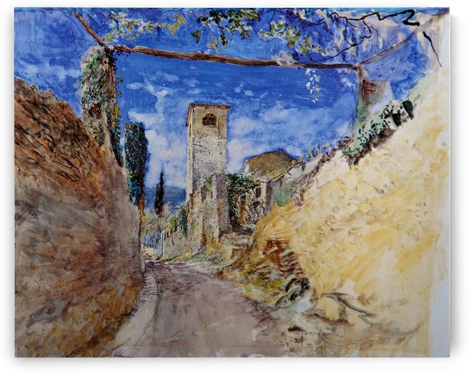A Vineyard Walk Lucca by John Ruskin