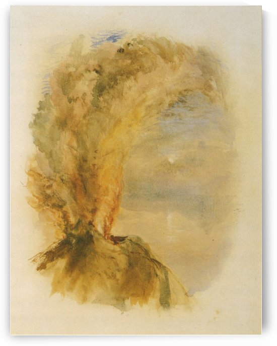 Vesuvius in Eruption by John Ruskin