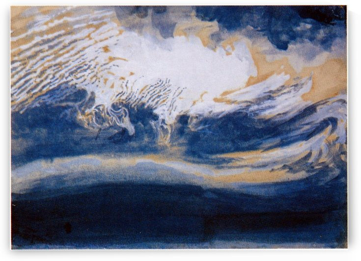 Ice Clouds over Coniston by John Ruskin