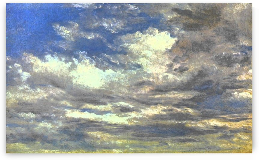 Cloud Study by John Ruskin