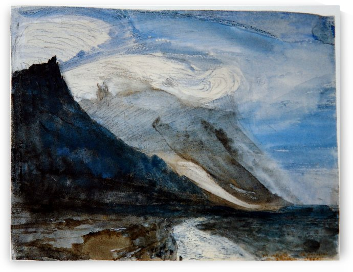 Moonlight Chamonix by John Ruskin