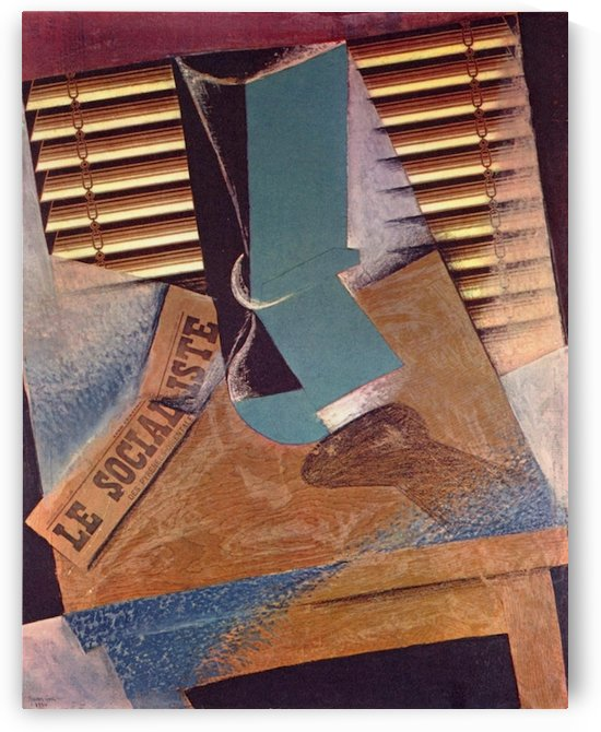 The blind by Juan Gris by Juan Gris