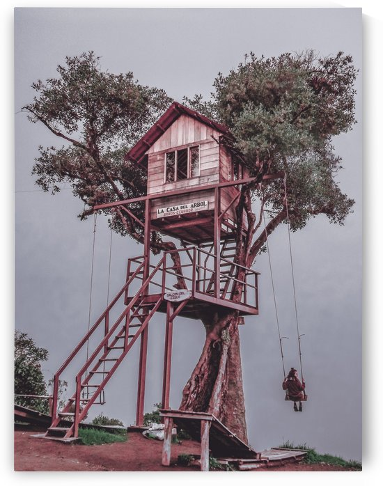 Treehouse   Baños, Ecuador by Daniel Ferreia Leites Ciccarino