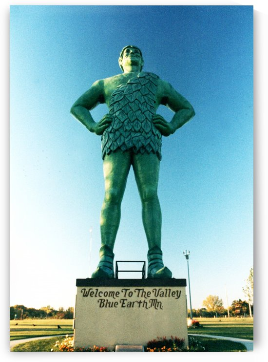 Jolly Green Giant - Blue Earth Minnesota  by FoxHollowArt