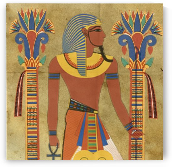 egyptian tutunkhamun pharaoh design by Shamudy