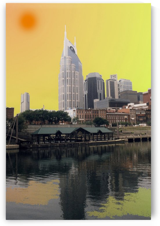 Nashville Tenneessee On A HOT Day by FoxHollowArt
