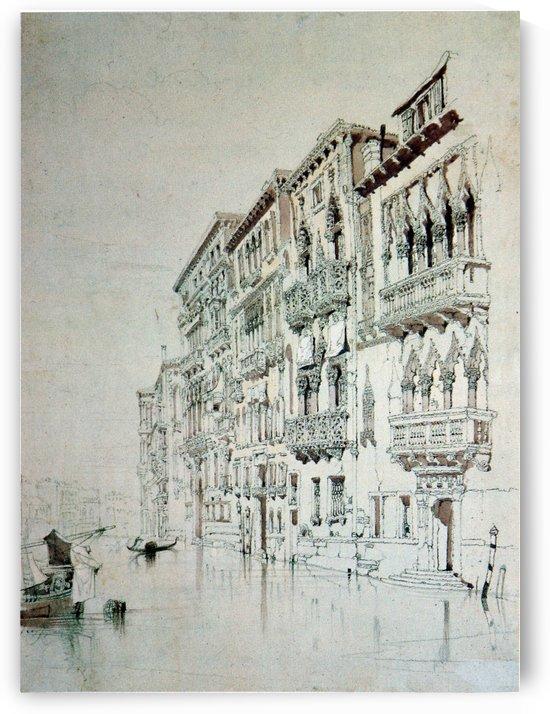 Casa Contarini Fasan Venice by John Ruskin