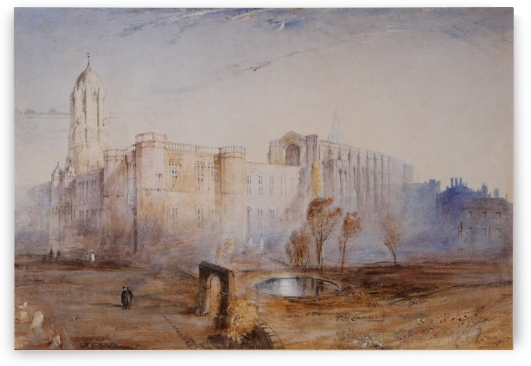 Christ Church from St Aldate by John Ruskin