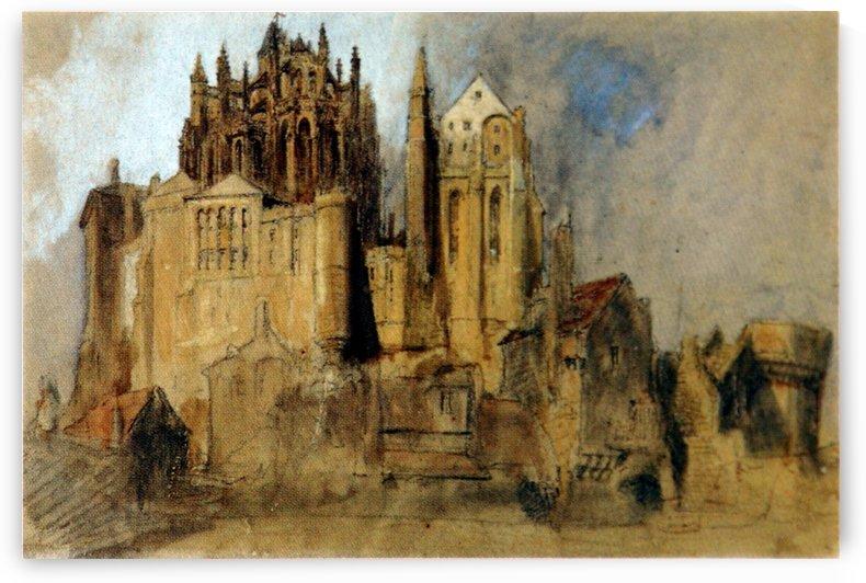 La Merveille Mont St Michel by John Ruskin