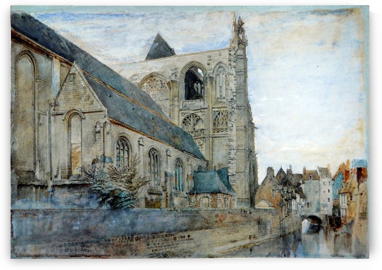 Abbeville Church of St Wulfran by John Ruskin