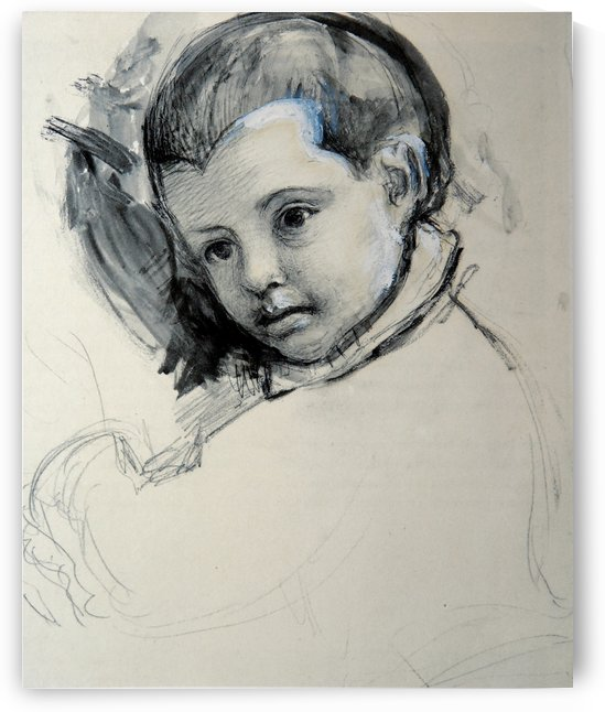 Head of a Boy by John Ruskin