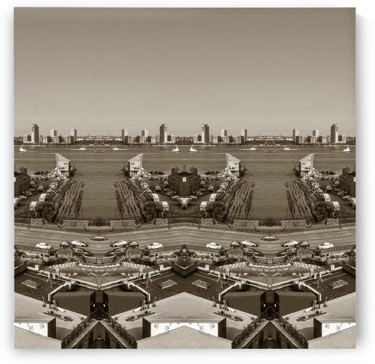 NYC - City Distorted2 by Hazz Brad