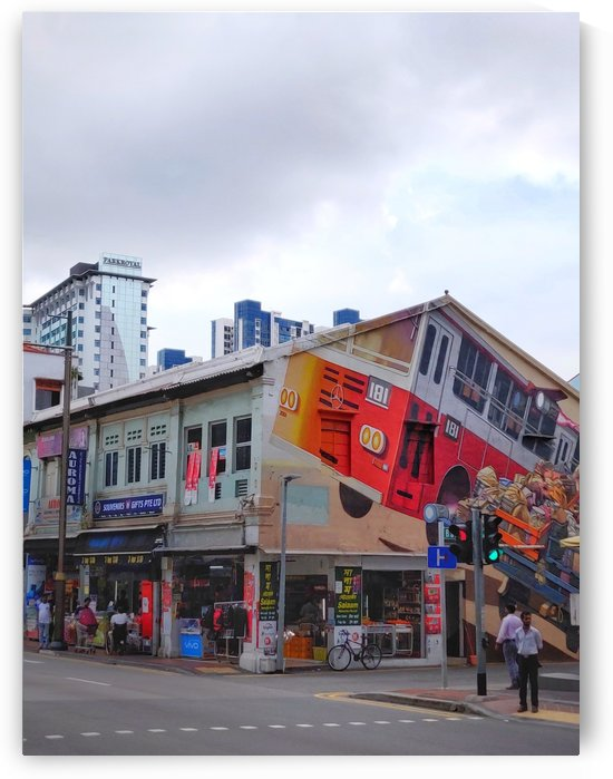 Singapore Little India by Isabelle Koutny