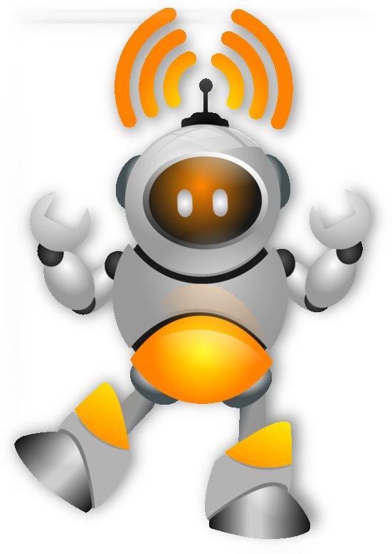 design robot technology wifi by Shamudy