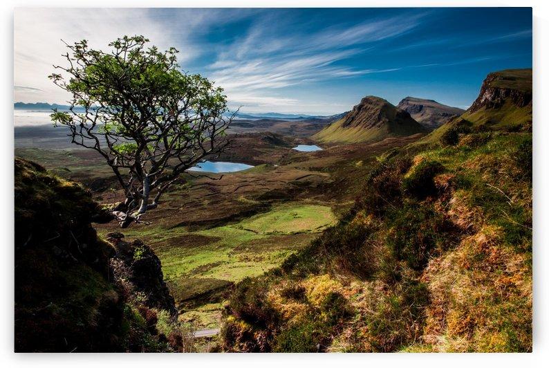 landscape quairaing scotland by Shamudy