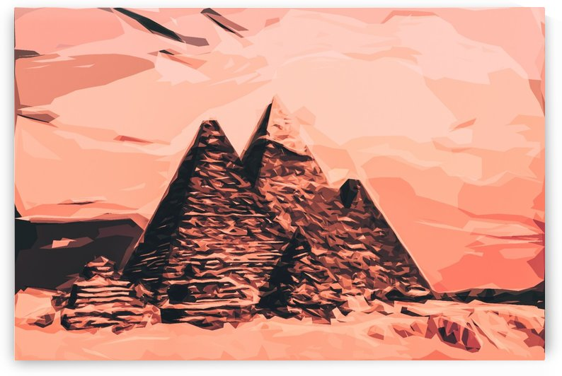 pyramid egypt monumental by Shamudy