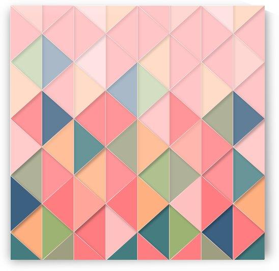 background geometric triangle by Shamudy