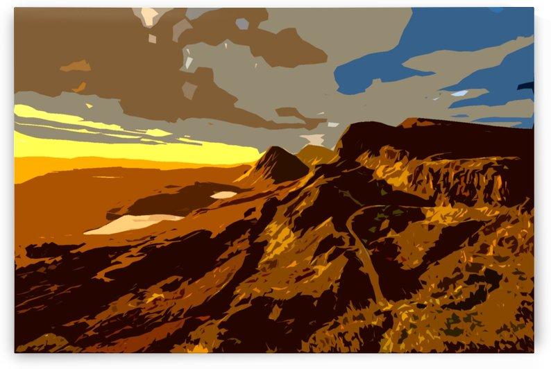 scotland monti mountains mountain by Shamudy