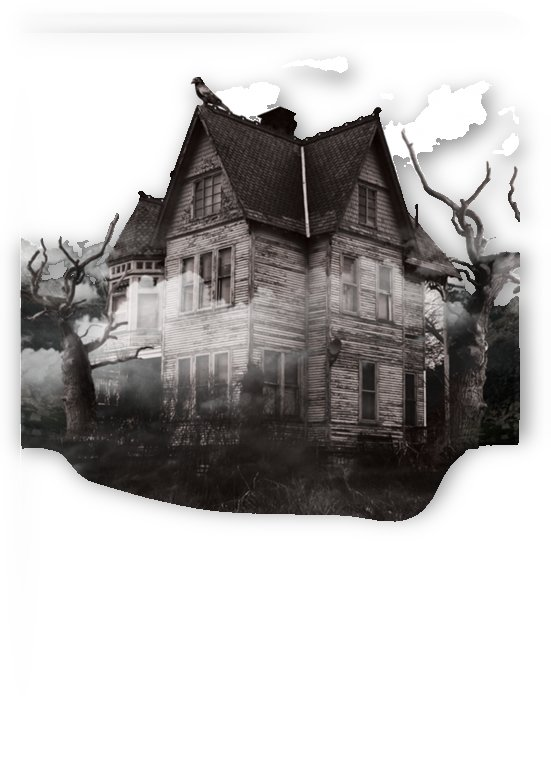 haunted night building by Shamudy