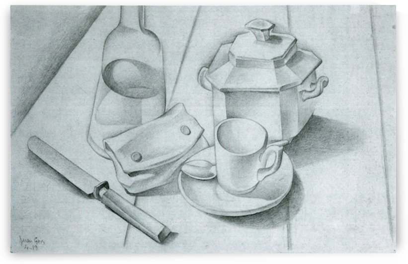 The tobacco pouch by Juan Gris by Juan Gris