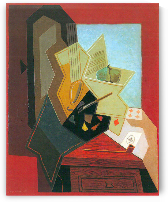 The window of the painter by Juan Gris by Juan Gris
