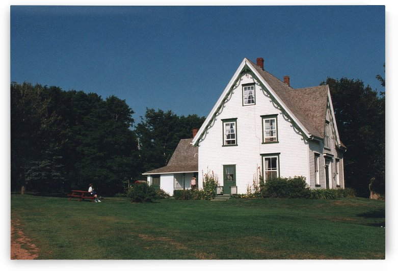 Anne Of Green Cables House - Prince Edward Island Canada by FoxHollowArt