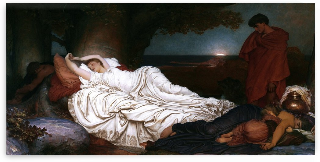 Cymon and Iphigenia by Lord Frederic Leighton by xzendor7