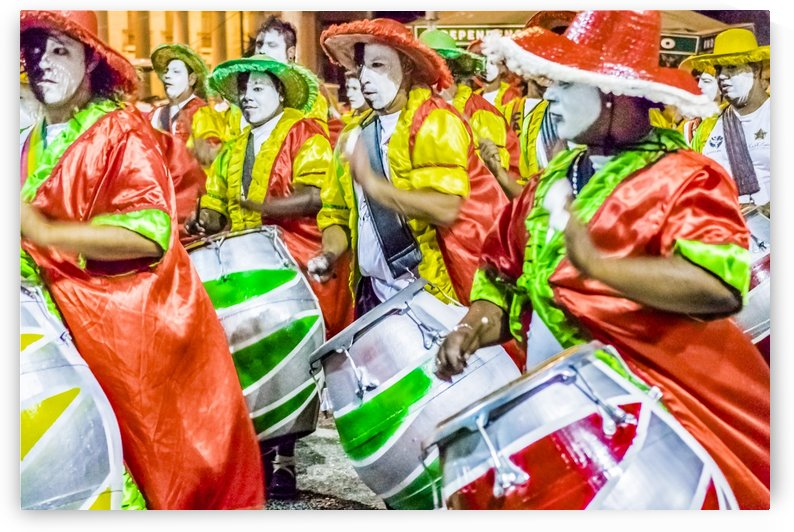Candombe Drummers at Carnival Parade, Montevideo   Uruguay by Daniel Ferreia Leites Ciccarino