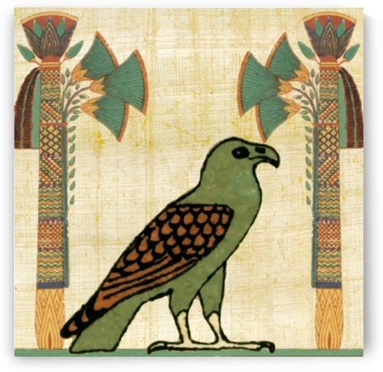 egyptian paper papyrus bird by Shamudy