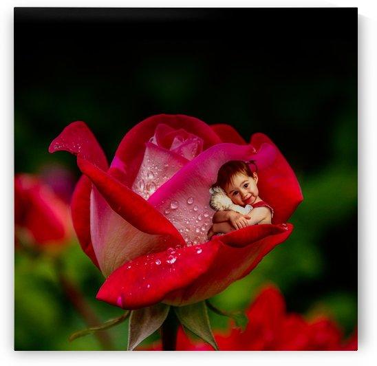 Flower Child by Devenald Sharma