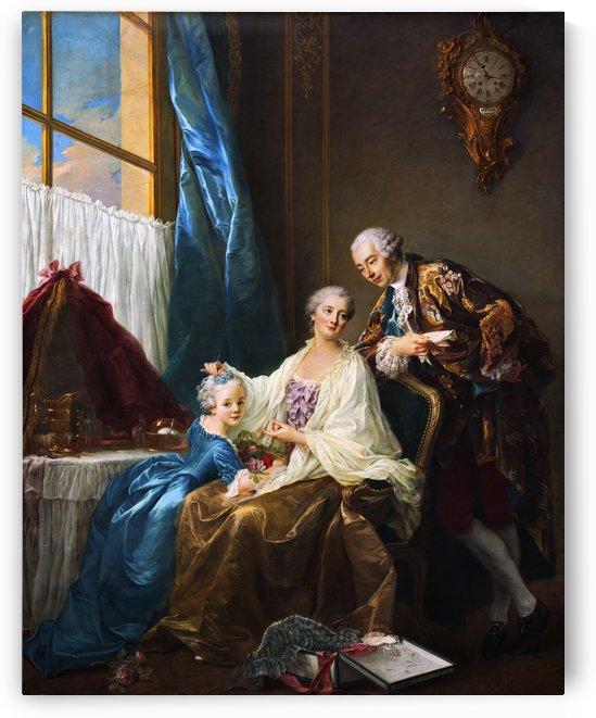 Family Portrait by François-Hubert Drouais by xzendor7